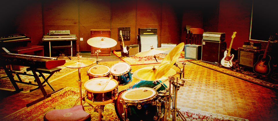 A solid selection drums and classic amps and gear.