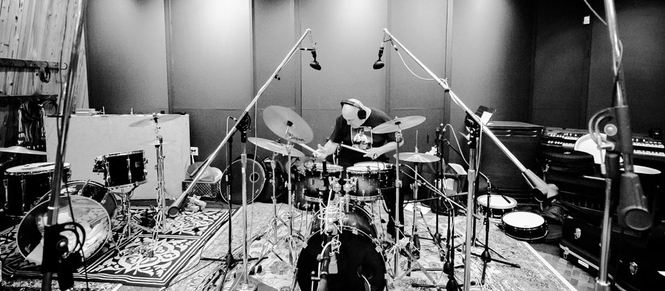 Big room. Big drums. Big drum sound.